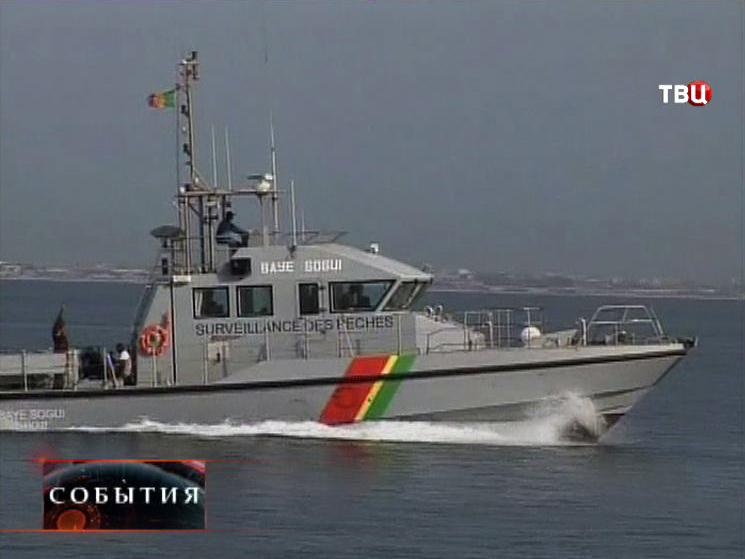 Катер рыболовной охраны Сенегала
