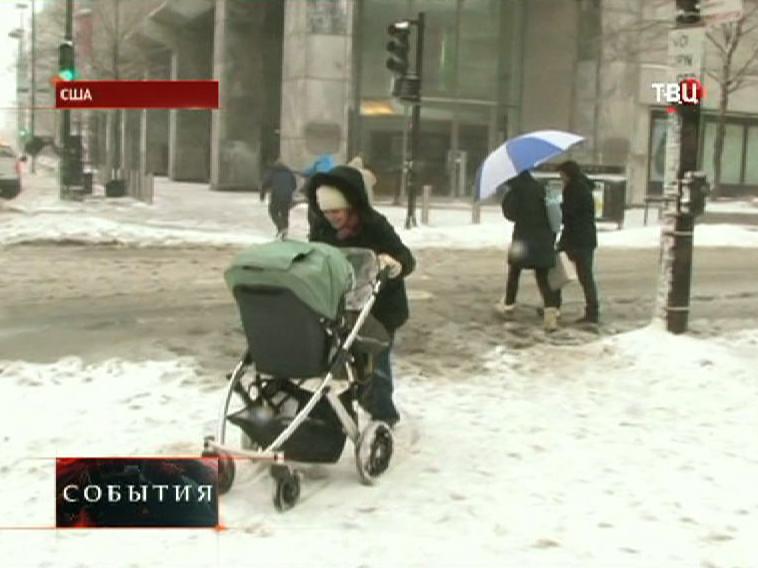 Сильное похолодание в США