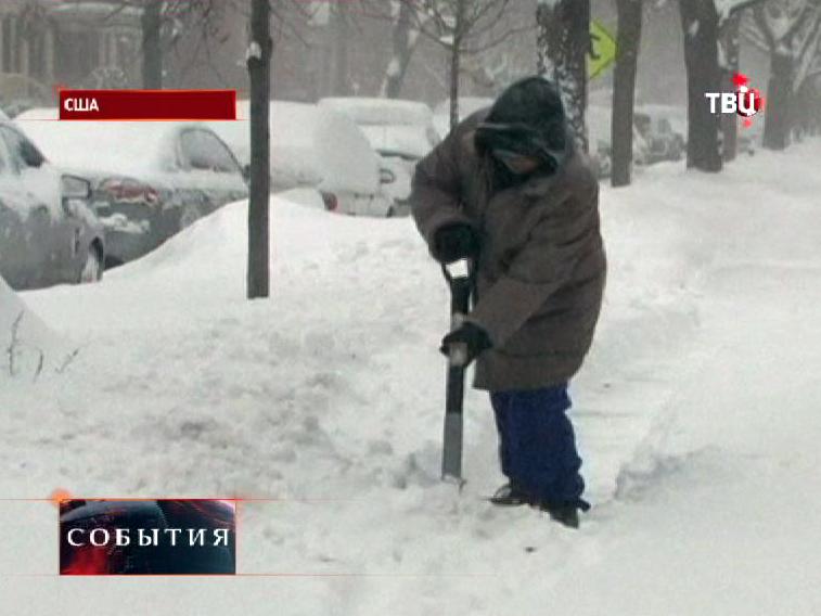 На США обрушились 50-градусные морозы