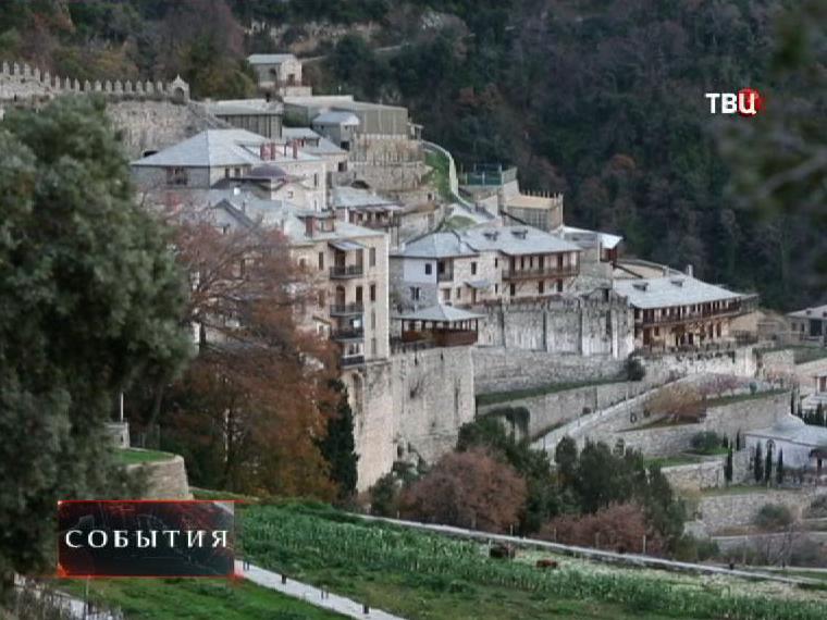 Монастырь Святого Павла на горе Афон