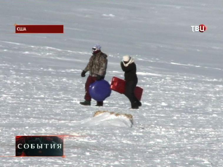 Аномальные морозы парализовали жизнь в Канаде и США