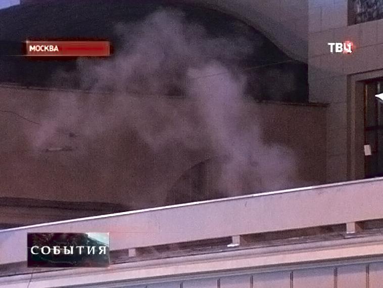 Пожар на Киевском вокзале