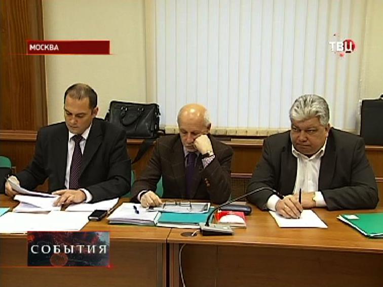Бывший депутат Госдумы Константин Ширшов в зале суда