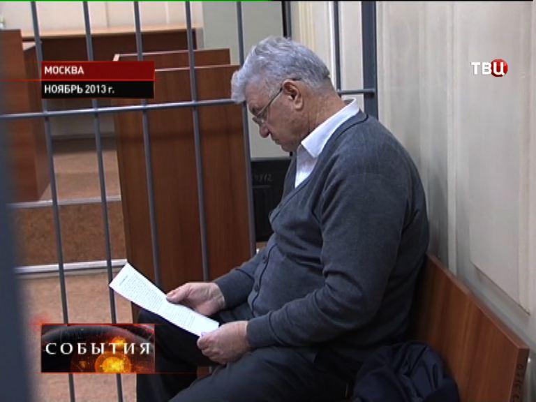Михаил Столяров на суде