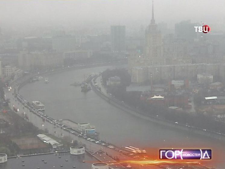 Дождь в Москве