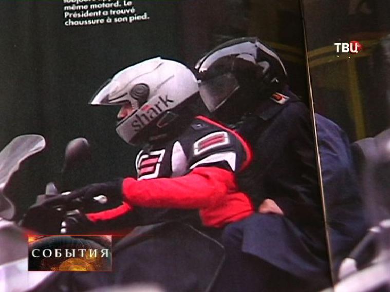 Фотография в журнале Closer