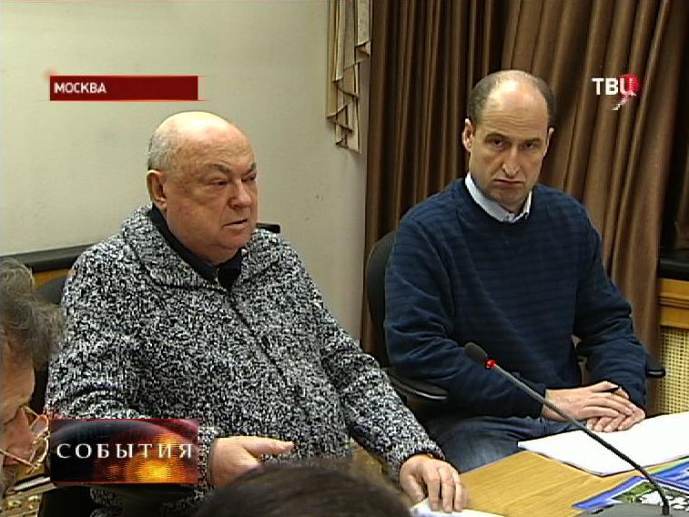 Владимир Ресин на совещании