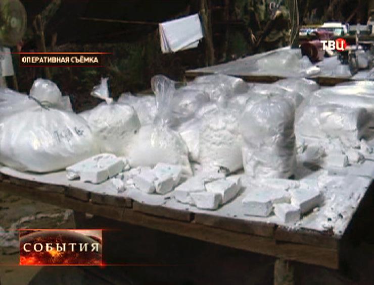 Крупная партия кокаина