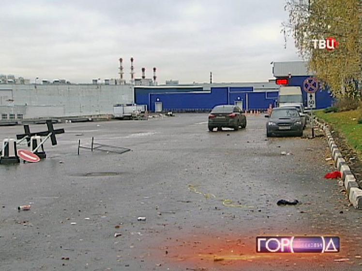 Овощебаза в Бирюлёве