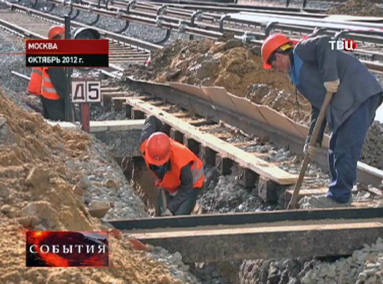"""Строительство депо """"Братеево"""""""