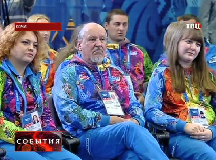 Волонтеры Олимпиады