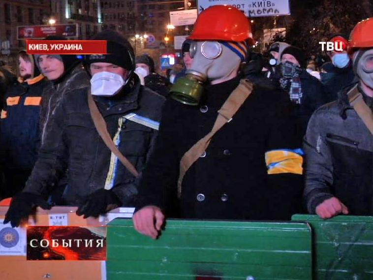 Митинг оппозиции в Киеве