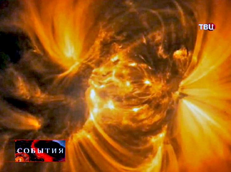 3D-модель распада звезды