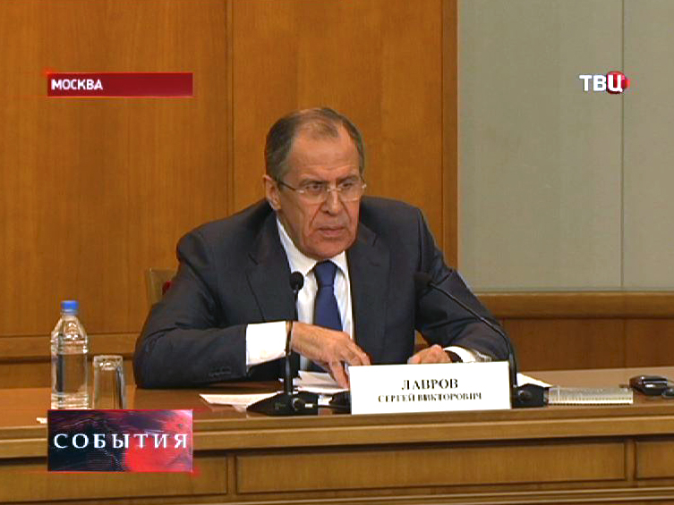 Министр иностранных дел РФ Сергей Лавровв Сирии