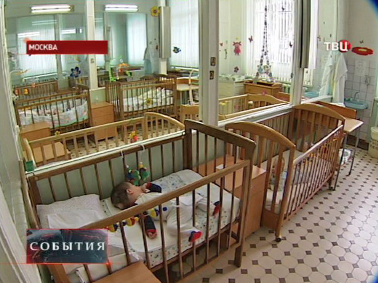 Палата в детской больнице