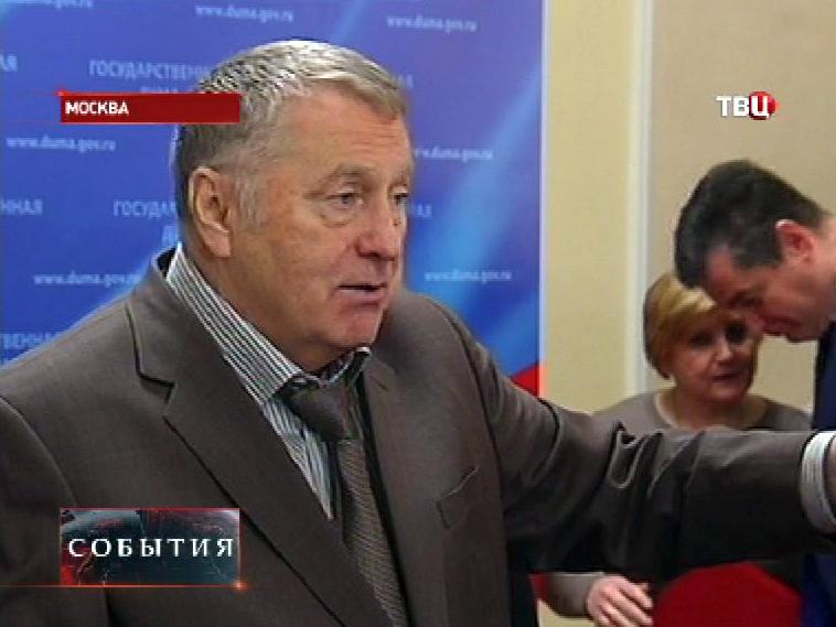 Руководитель фракции ЛДПР в ГД РФ Владимир Жириновский