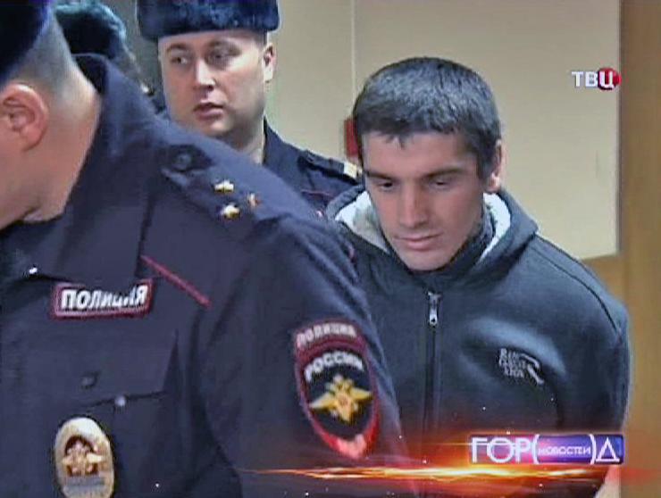 Задержанный преступник