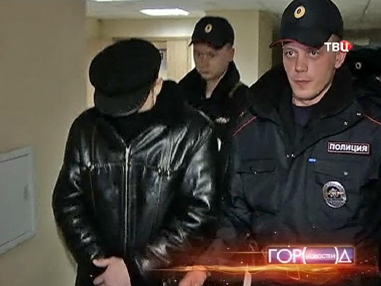 Задержанный Дмитрий Паршин