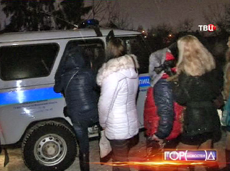 проституток в подмосковье задержание