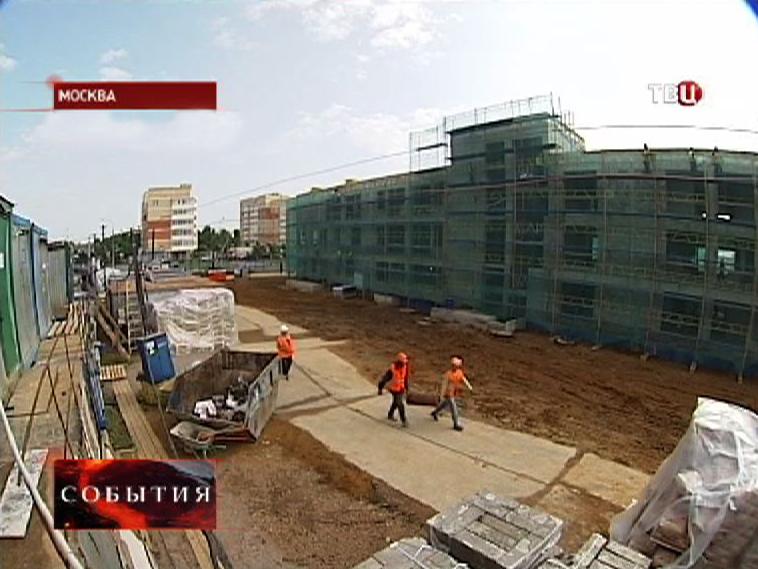 Стройплощадка нового детского сада
