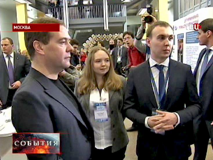 """Дмитрий Медведев встретился со студентами """"МИСиСа"""""""