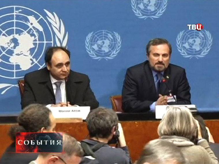 Представитель сирийской оппозиции Луай Сафи