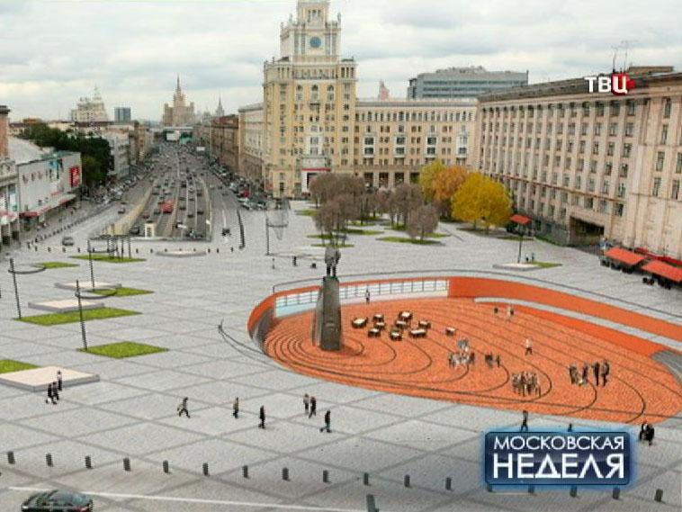 Проект реконструкции Триумфальной площади