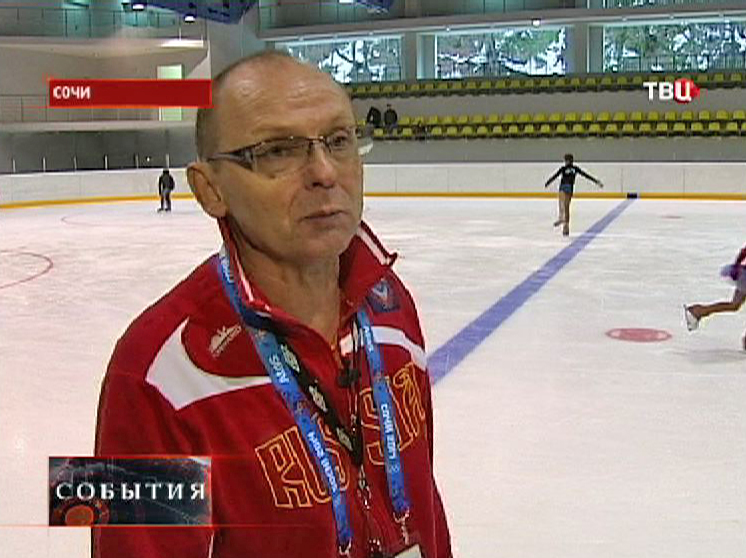 Президент Федерации фигурного катания Краснодарского края Владимир Мелехин