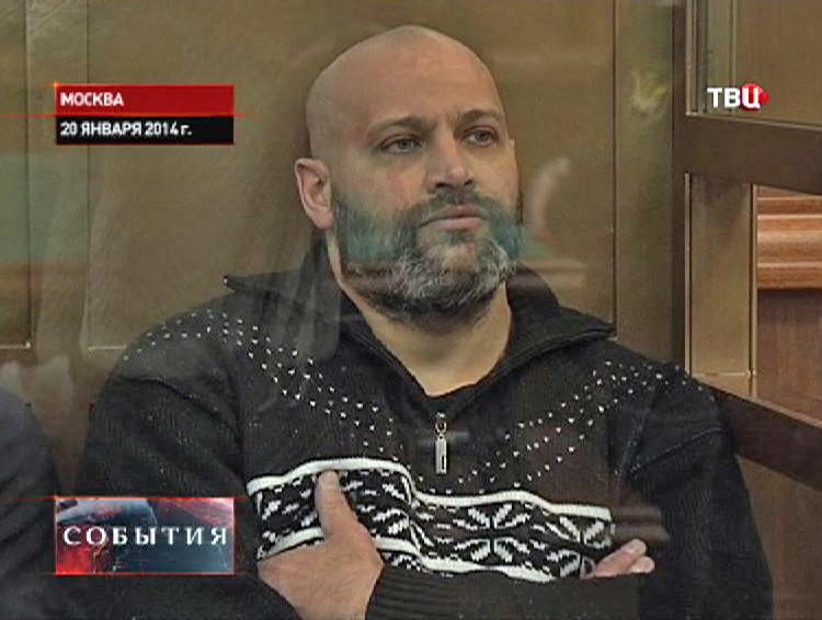 Подсудимый в зале суда