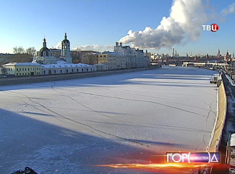 Зима в Москве