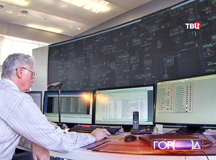 Центр управления энергосетями Москвы