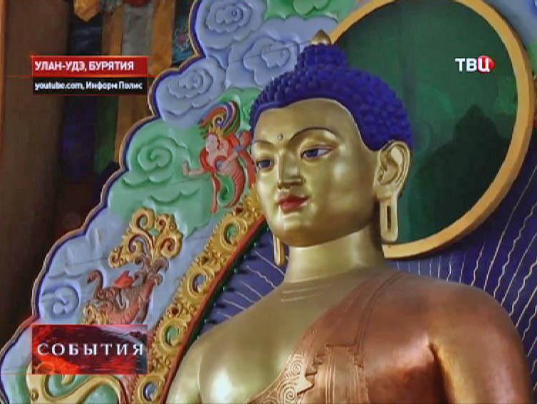 Статуя Будды в Улан-Удэ