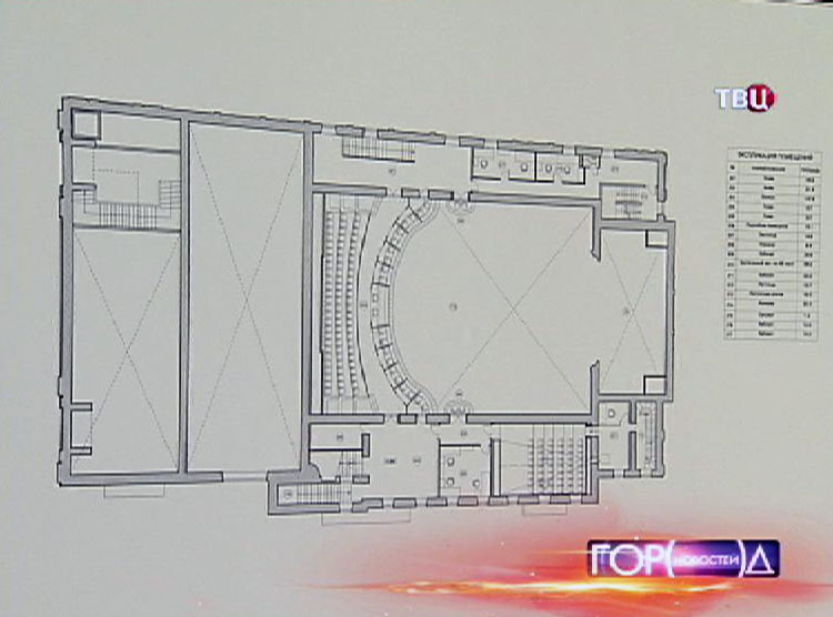 """Проект реставрации кинотеатра """"Художественный"""""""