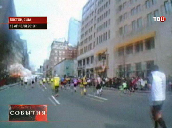 Терракт в Бостоне в 2013 году