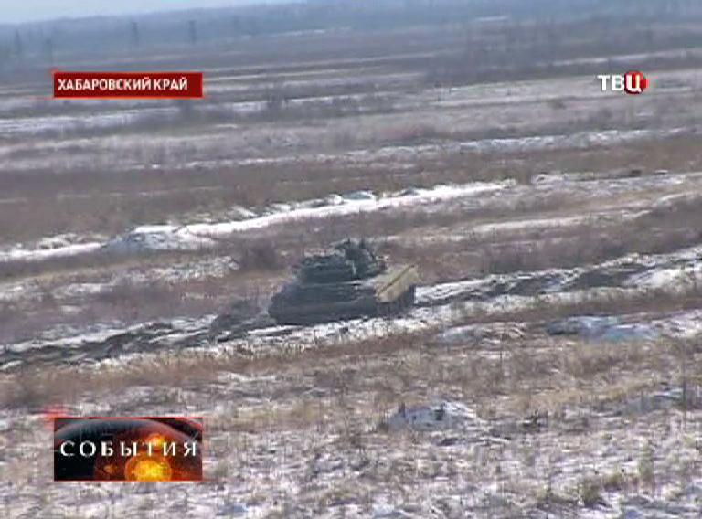 Военный полигон в Хабаровском крае