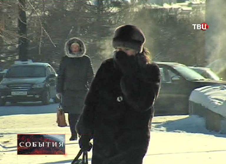 Мороз в России