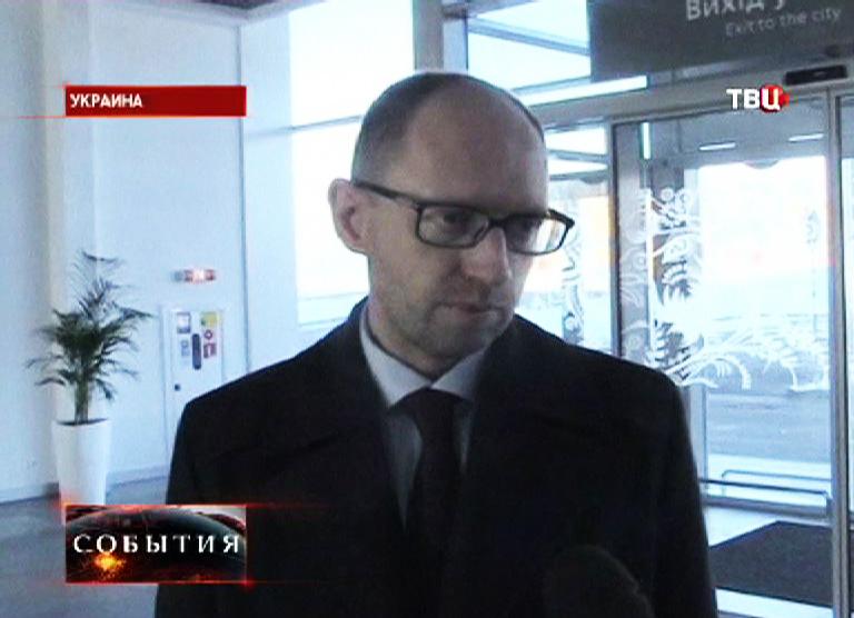 """Арсений Яценюк -  лидер партии """"Батькивщина"""""""