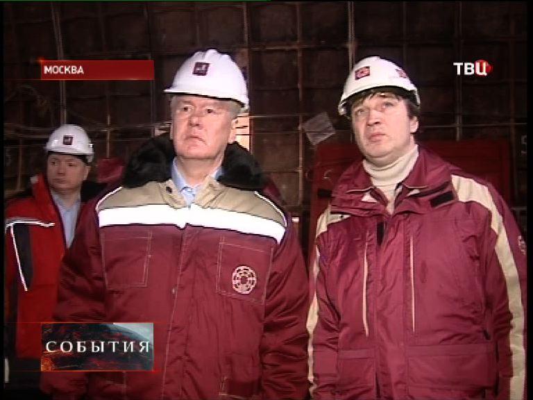 """Сергей Собянин посещает строительство станции """"Петровско-Разумовская 2"""""""