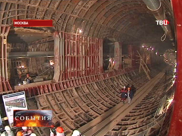 """Строительство станции метро """"Петровско-Разумовская 2"""""""