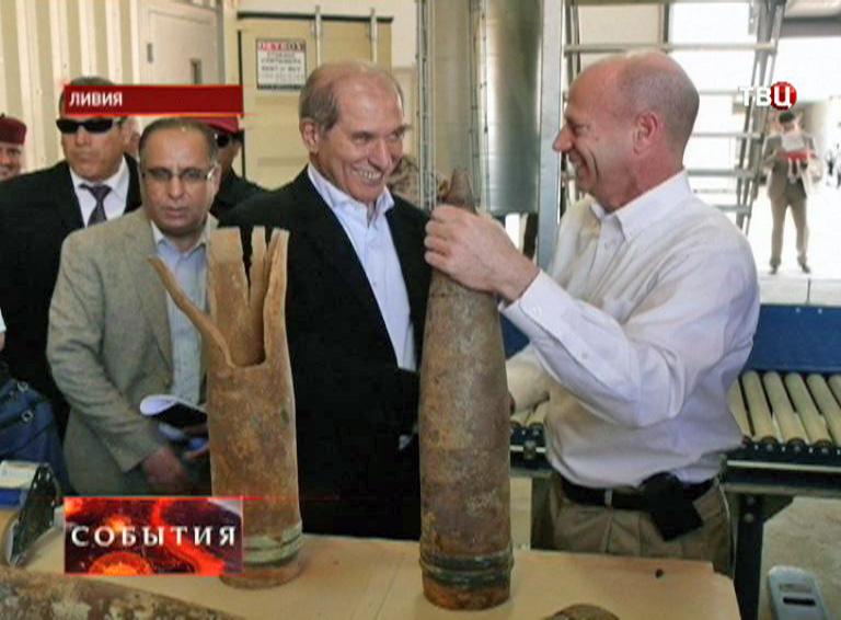Артиллерийские снаряды в Ливии