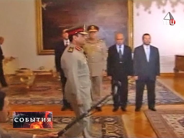 Первый заместитель премьер-министра Абдель Фаттах ас-Сиси