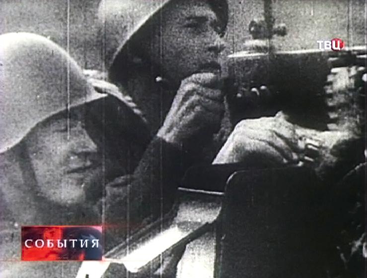 Архивные съемки Второй мировой войны