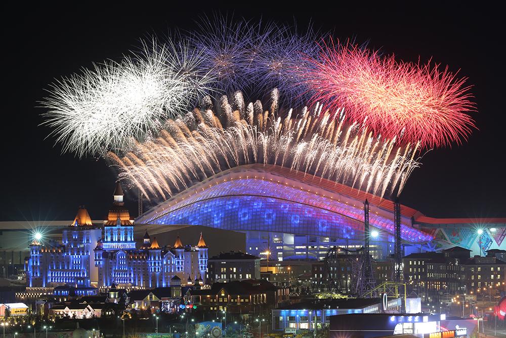 предварительно рассчитать самое красивое и зрелищное открытие олимпиады за историю прогреве (еще обкатки)