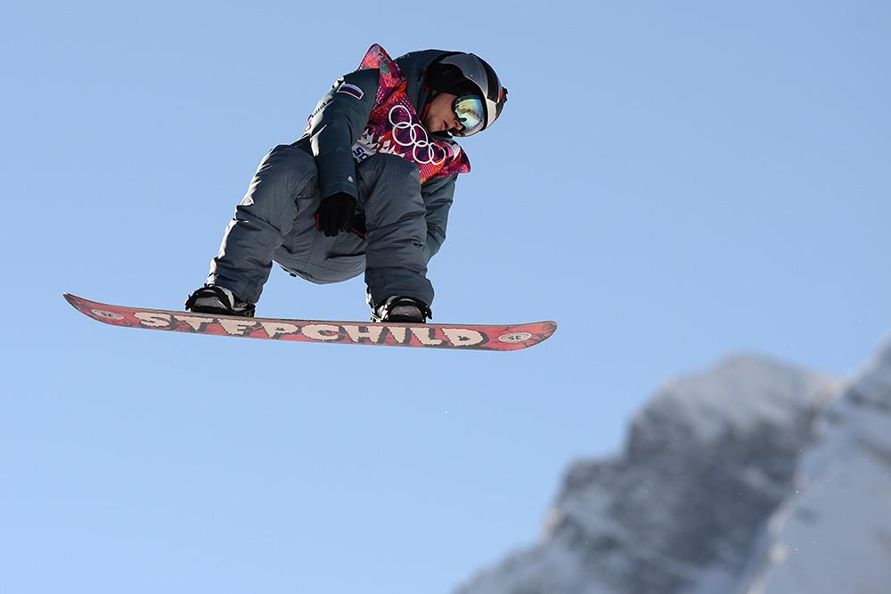 Сноубордист из США стал первым олимпийским чемпионом в Сочи