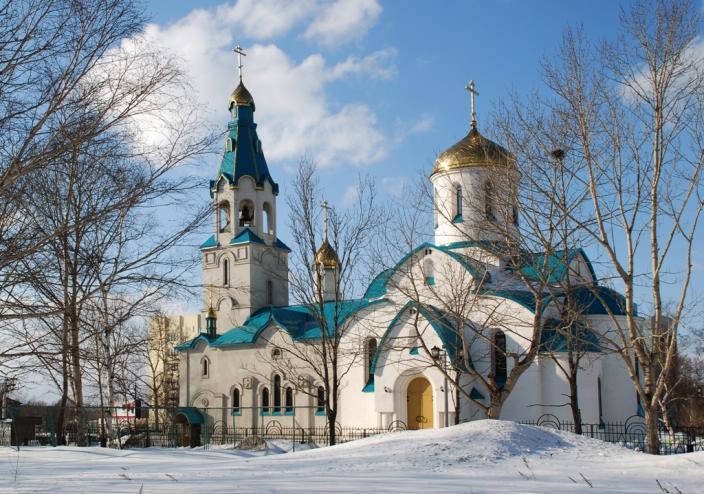 Кафедральный собор Воскресения Христова в Южно-Сахалинске