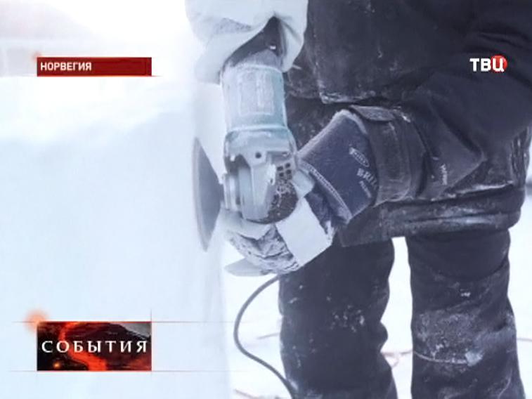 """Фестиваль """"ледяной"""" музыки в Норвегии"""