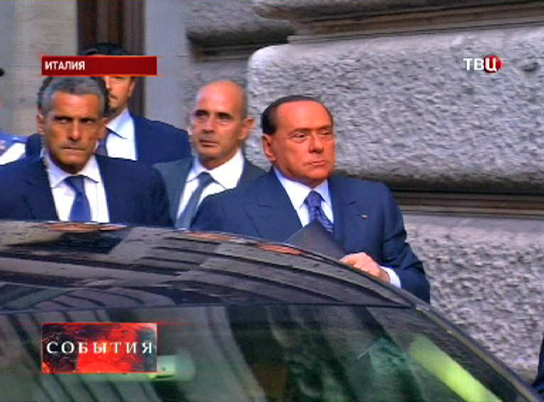 Экс-министр Италии - Сильвио Берлускони
