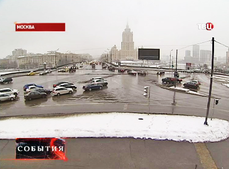 Рекламный щит в Москве