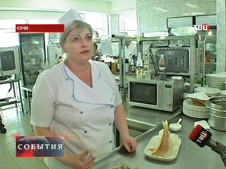 Шеф-повар Оксана