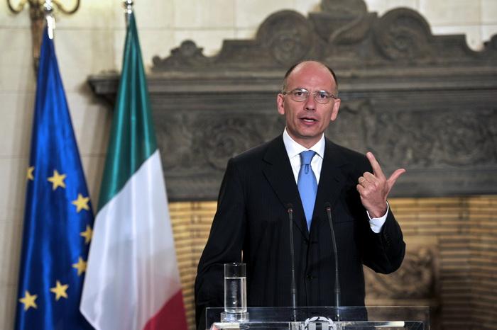 Премьер-министр Италии Энрико Летто